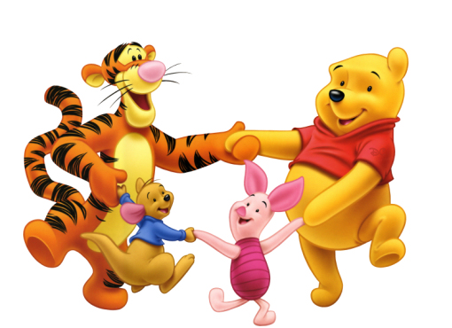 Picture : Winnie The Pooh and Friend's