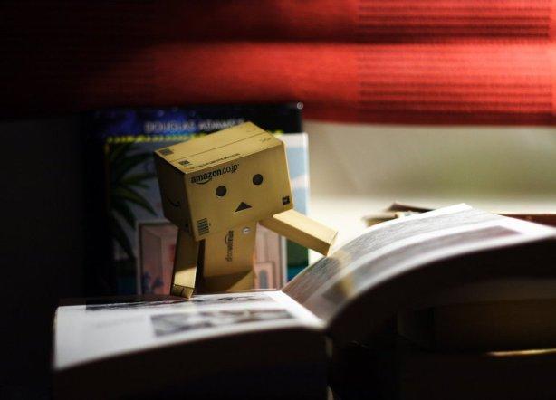 Danbo Reading Book!