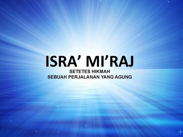isra' miraj - Aris Djunaedi