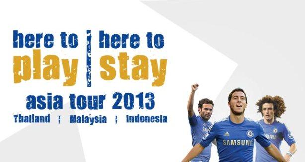 Chelsea Asia Tour 2013