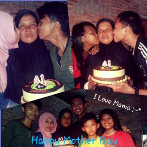 My Mom Birthday :-*